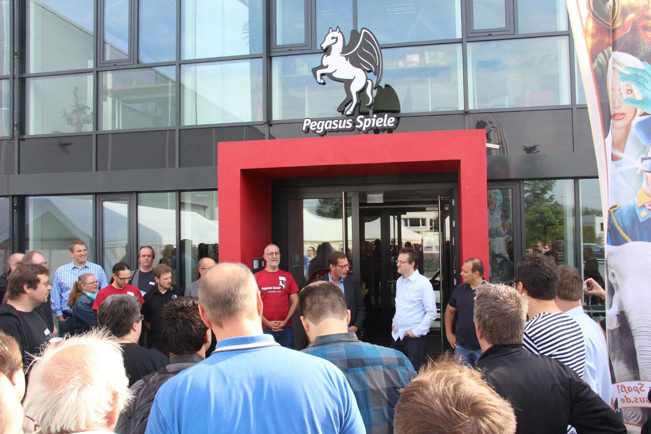 Zu Gast bei Pegasus Spiele
